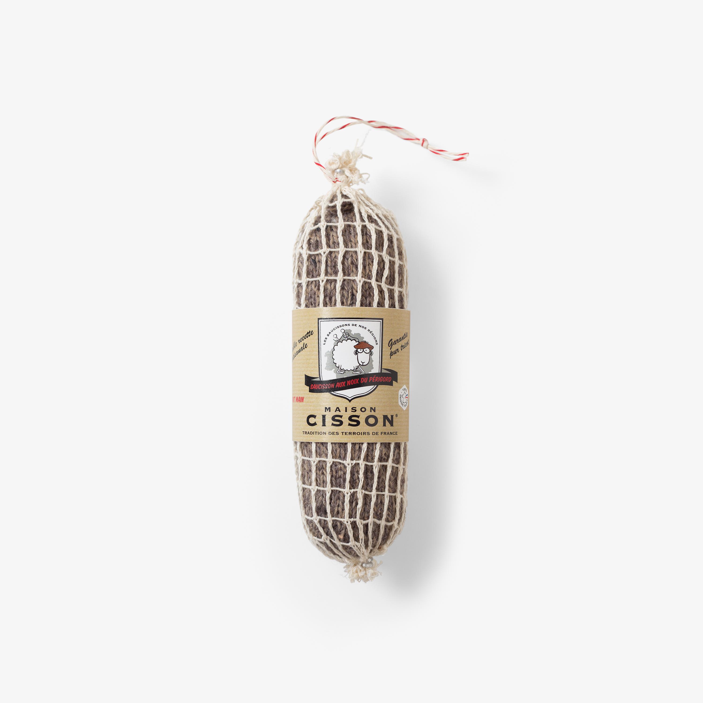 le saucisson aux noix tricot les incroyables saucissons en laine de chez maison cisson id e. Black Bedroom Furniture Sets. Home Design Ideas